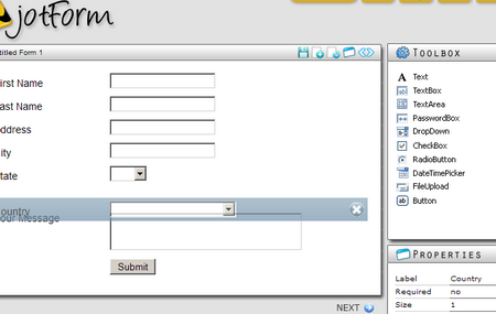 Jotform screenshot (click to enlarge)