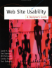 Book cover: Web Site Usability