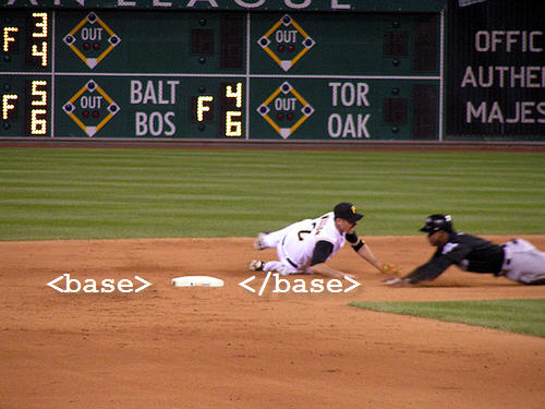 baseball base for base tag