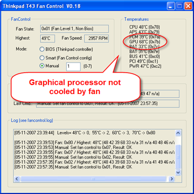 Laptop Fan: Windows 7 Laptop Fan Control