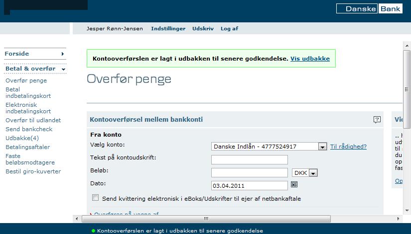 den danske netbank
